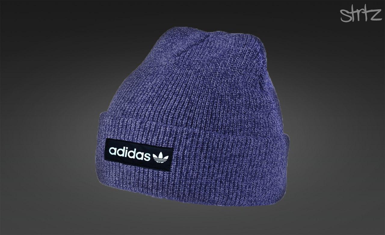 Синя шапка адідас, шапка Adidas