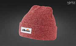 Теплая модная шапка Ellesse