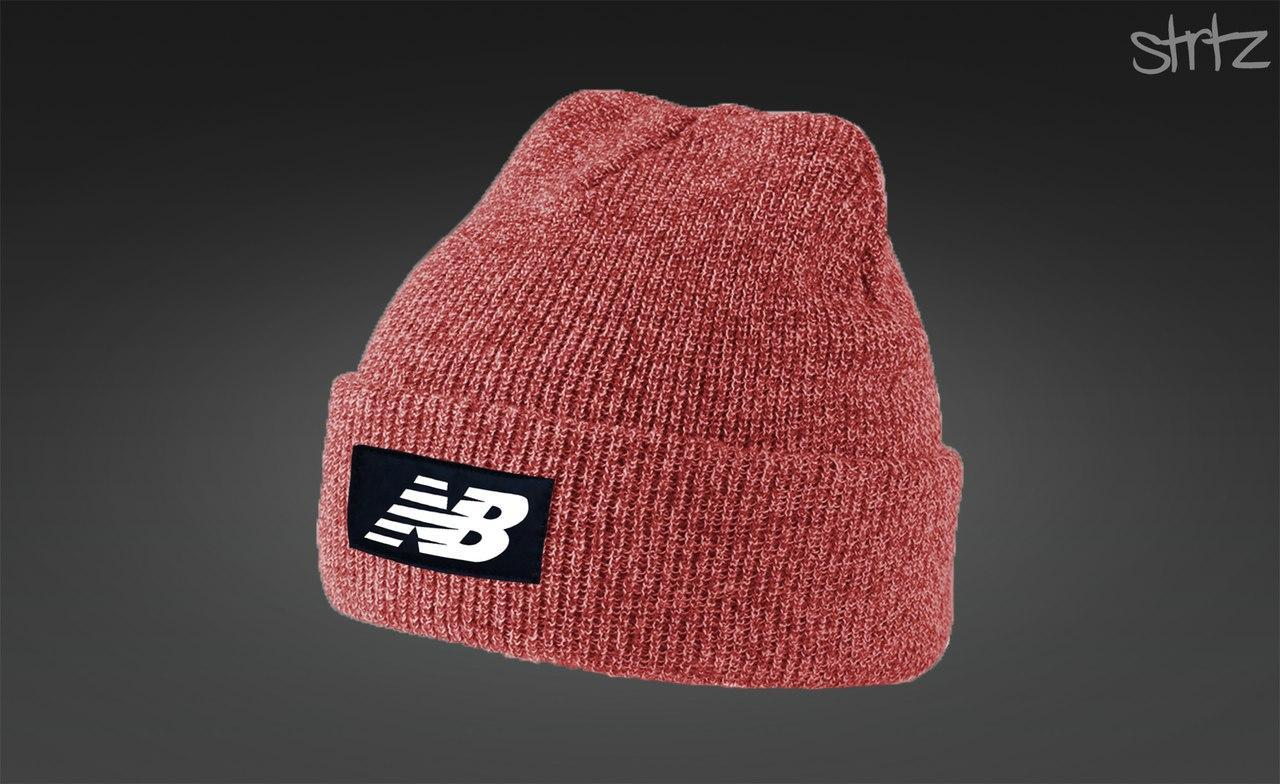 Мужская стильная шапка New Balance