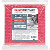Салфетки для уборки ProService целлюлозные розовые 18x18 см 5 шт N50708388