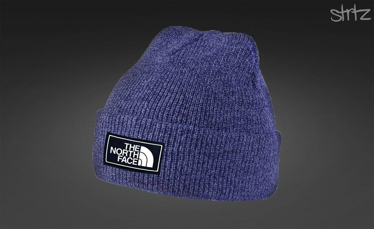 Яркая зимняя шапка The North Face