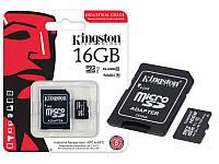 Kingston Industrial Temperature microSD 16GB (UHS-I, 90Мб/с, 45Мб/с, -40 до 85C)