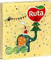 Салфетки столовые Ruta   Art Детская 33х33 см разноцветные 18  шт.
