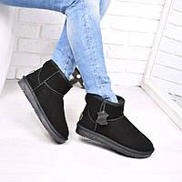 Угги женские UGG низкие ЗАМША 3755 41 размер , зимняя обувь