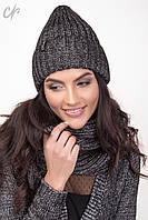 Комплект шапка с шарфом 1476, фото 1