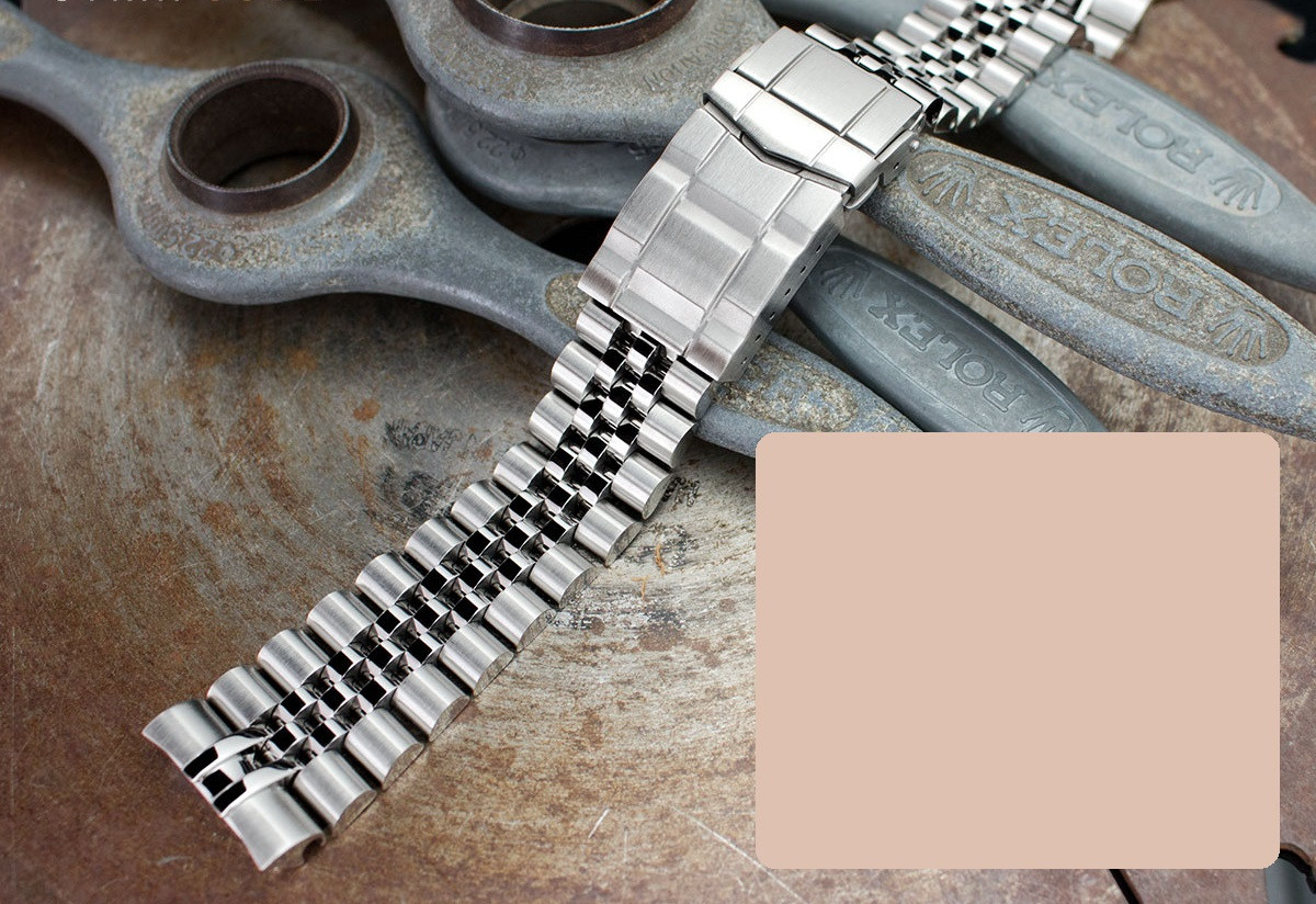 22 мм Super Jubilee 316L стальной браслет для Seiko SRP777, SRP775, SRP773, SRP779, PADI SRPA21