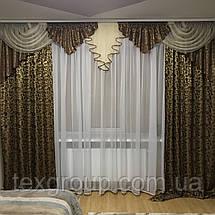 Комплект штор с ламбрекеном №316, фото 3