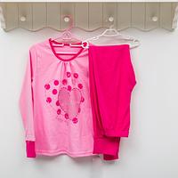 Пижама детская для девочки ТМ Фламинго, интерлок (артикул 251-212)