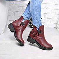 Ботинки женские Karat черные ЗИМА 3762, ботинки женские