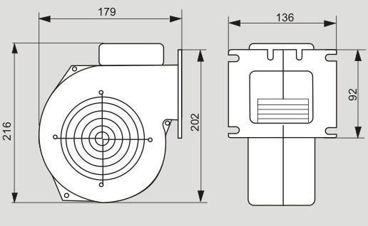 Вентилятор X2 Схема