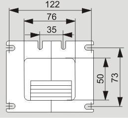Размеры вентилятора X2