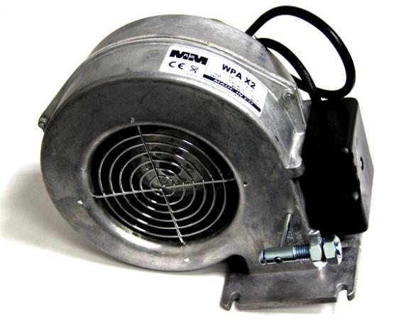 Вентилятор для твердотопливного котла X2