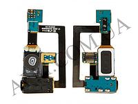 Конектор наушников Samsung i9000/  i9001,   с кнопкой Меню (Home),   с микрофоном,   с виброзвонком