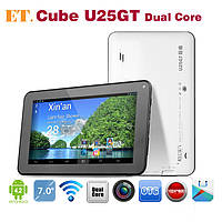 "Планшет Cube U25GT 7"" White/Black 1/8gb  Cortex-A9 2500 мАч"
