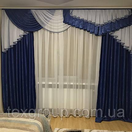Готовые шторы с ламбрекеном №321, фото 2