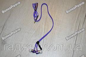 Наушники-Молния фиолетового цвета.Наушники. Вакуумные наушники., фото 2