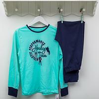 Пижама детская ТМ Фламинго для мальчиков, интерлок (артикул 253-212)