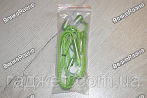 Наушники-Молния салатового зеленого цвета., фото 2