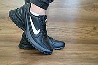Мужские кроссовки Nike AirMax Черные размеры:  41 42 43 44 45