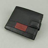 Кошелек мужской кожаный черный документы Rocco Barocco, фото 1