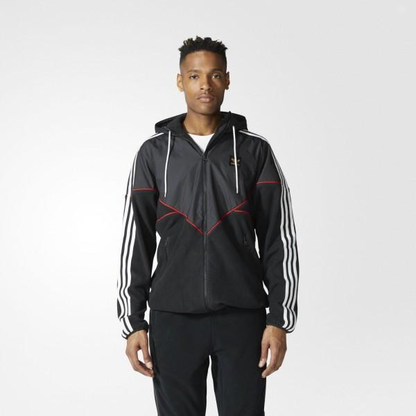 Мужская куртка Adidas Originals Premiere Fleece (Артикул: BR4016)