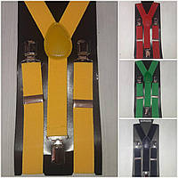 Турецкие подтяжки желтого цвета, подросток, 88/68 (цена за 1 шт. + 20 гр.)
