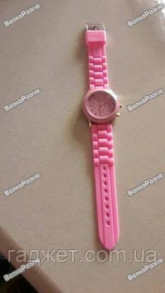 Женские часы Geneva светло розового цвета., фото 2