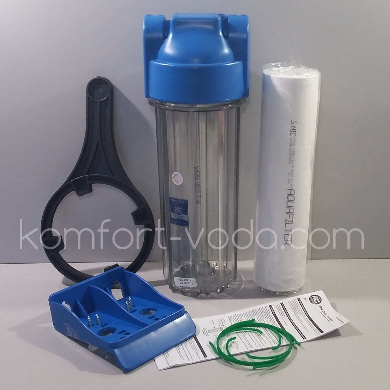 """Корпус фильтра для холодной воды Aquafilter FHPR34-HP1, 3/4"""""""