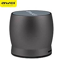 Портативная Bluetooth колонка AWEI Y500 серая, фото 1