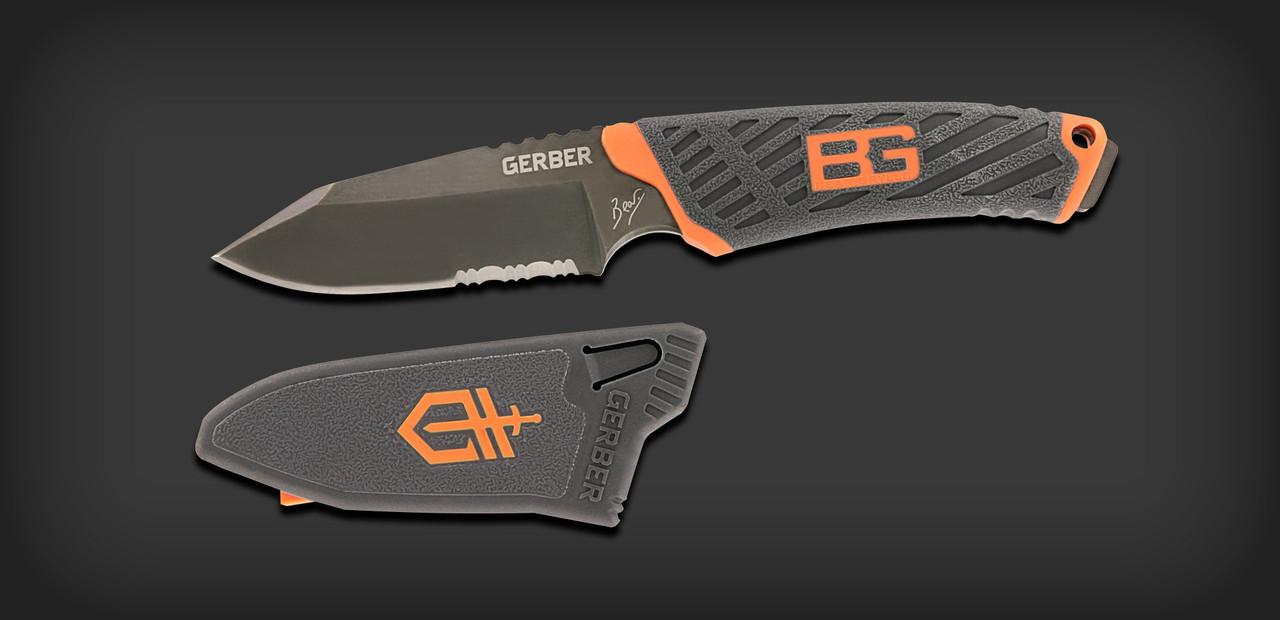 Нож Gerber Bear Grylls Compact Fixed Blade, копия, фото 1