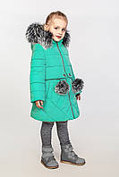 Детское зимнее пальто на тинсулейте на девочку Азиза Размер 104-146 Cvetkov