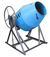 Профессиональная Бетономешалка БСБ-350 - объем 350 литров редукторный бетоносмеситель гравитационного типа
