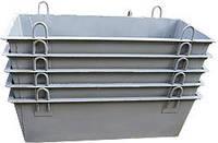 Ящик строительный для раствора 1 м3