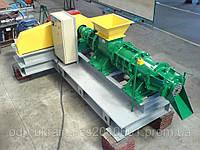 Пресс Экструдер БР-1000для брикетирования бурого угля и торфа 1 тонна в час изготовления брикетов