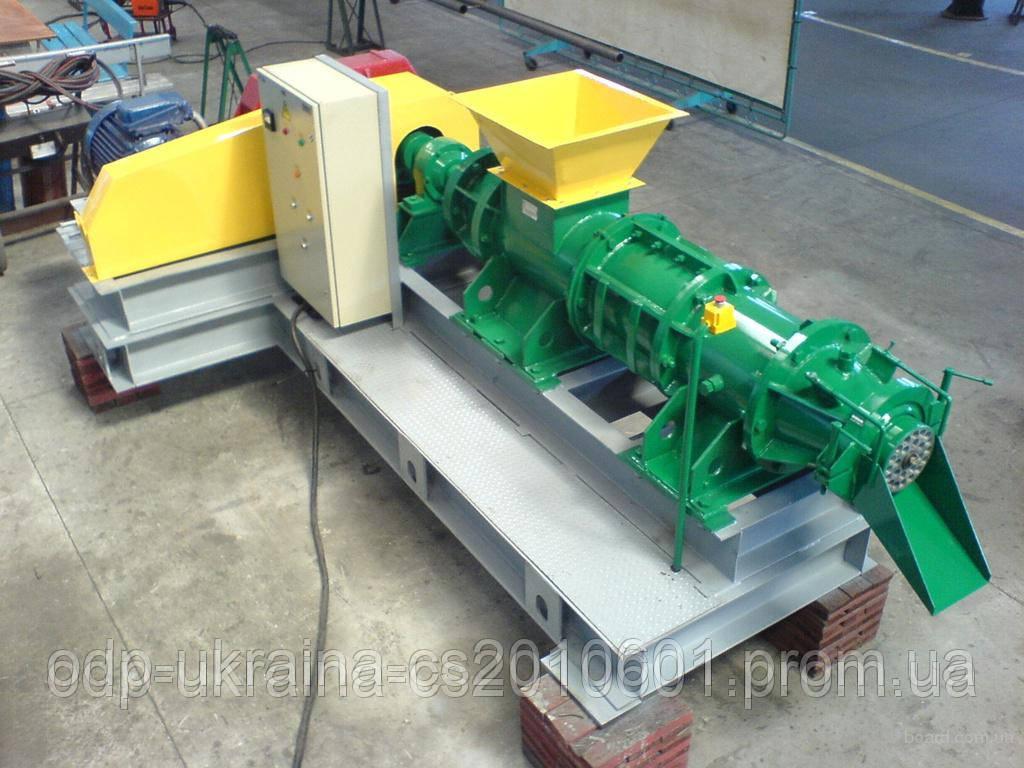 Пресс Экструдер БР-500 и БР-1000 для брикетирования бурого угля и торфа 1 тонна в час брикетов