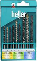Набор сверл универсальных Heller 5-8 мм 9 шт. 17741
