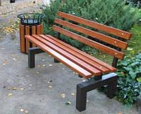 Скамейка Парковая СП-420 лавочка садовая