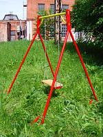 Детские качели «Красная Ракета», 2500х2100х1800 мм