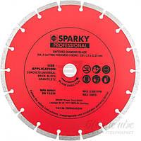 Диск алмазный отрезной Sparky    230x2,5x22,2 тротуарная плитка кирпич камень