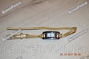 Стильные женские часы IEKE золотого цвета, фото 2