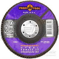 Круг лепестковый PROFITOOL ZIRCONIUM   125 мм P60 76012