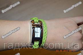 Стильные женские часы IEKE салатового цвета, фото 3