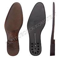 Подошва для обуви PU-7055 15, цв. коричневый с чёрным 39