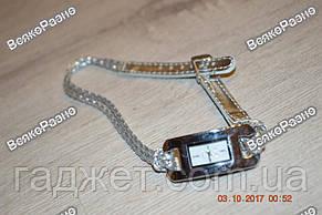 Стильные женские часы IEKE серебряного цвета., фото 2