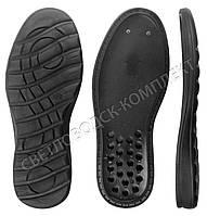 Подошва для обуви PU-7185, цв чёрный 44