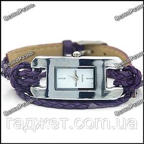 Стильные женские часы IEKE фиолетового цвета., фото 2