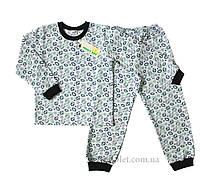 "Пижама для мальчика ""Футбол"" Merry Bee 12277 р.116 серый"