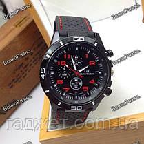 Мужские часы Street Racer GT Черные с красным, фото 3