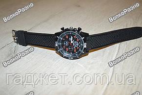Мужские часы Street Racer GT Черные с оранжевым, фото 3