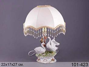 "Lefard светильник ""лебеди"" с абажуром, 22х17х27 см 101-423"